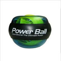 Wholesale Wrist Power Exercise - Blue Power Wrist Ball Gyroscope Strengthener Ball   Wrist Powered Force Ball   Arm Exercise Power Ball, CE hight quality free shipping