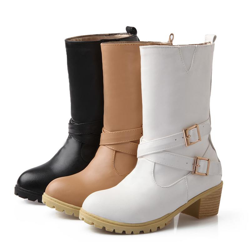 2015 Ankle Boots For Women Winter Boots Wedge Boots Snow Shoes ...