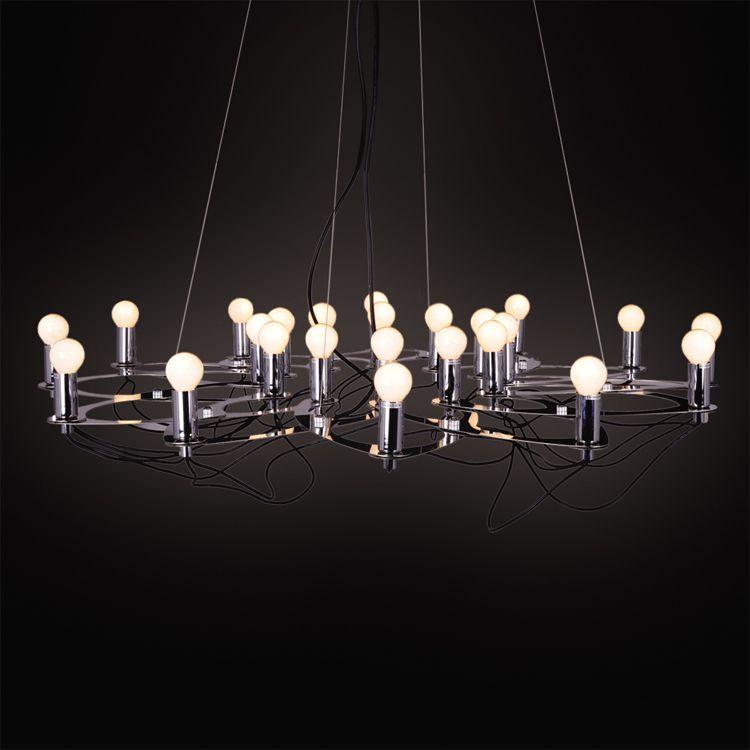 60 cm after lotus lamp stainless steel chandelier modern 60 cm after lotus lamp stainless steel chandelier modern minimalist living room bedroom dining chandelier designer creative art chandelier aloadofball Images