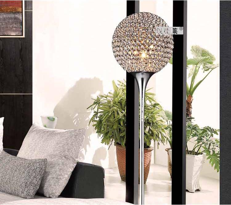 2017 Modern Crystal Floor Lamp With Ce&Ul Approval For Home Decor ...