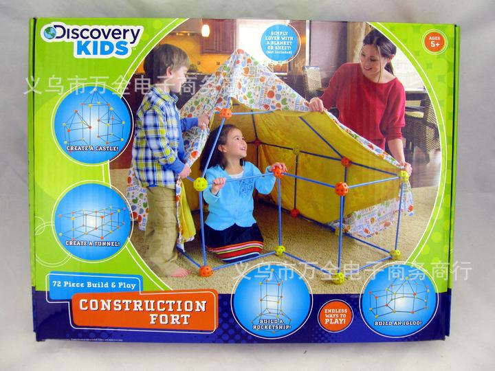 Shipping Free 2014 Discovery Kids Build u0026 Play Construction Fort Rocketship Igloo Children Play Tent Indoor Tent For Kids Play Tents For Boys From ... & Shipping Free 2014 Discovery Kids Build u0026 Play Construction Fort ...
