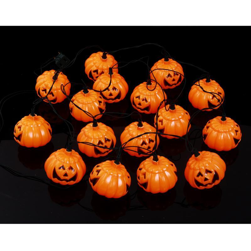 see larger image - Halloween Pumpkin Lights