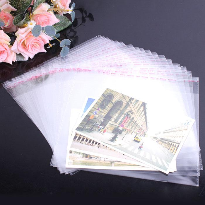 clear self adhesive plastic bag opp packaging jewelry pouches bags gift bag 5*20,5*30,6*22,9*17,10*19,10*17,12*28,20*30,28*39