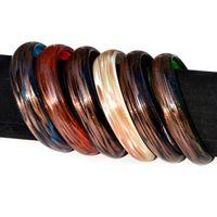 Wholesale Murano Glass Bulk - Bangle Bracelet wholesale Bulk Job charms goldfoil murano glass bracelets bangle Cuff