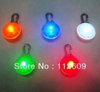 ingrosso tag per i prodotti-All'ingrosso-100pcs / lot Pet Dog Cat lampeggiatore LED Light Tag pet accessori per animali da compagnia prodotto accessorio / spedizione gratuita