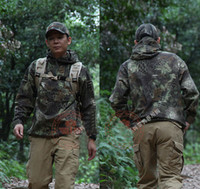 Shark Skin Shell Jacket Waterproof Hoodie Kryptek Mandrake G...