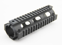 ingrosso quad rails inch-Tactical Handguard Carbine Length 2 pezzi Metallo Quad Rail System da 6,7 pollici