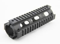 Wholesale quad rails - Tactical Handguard Carbine Length 2 Piece Metal 6.7 inch Quad Rail System