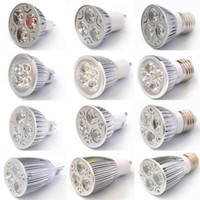 Wholesale cree mr16 3x3w - 9W 12W 15W Dimmable LED Bulb Light GU10 MR16 E27 E14 B22 LED Spotlights CREE Lights 3x3W Energy-saving Bulbs Led Light Bulb