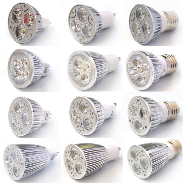 9W 12W 15W Dimmable LED Bulb Light GU10/MR16/E27/E14/B22 LED Spotlights Lights 3x3W Energy-saving Bulbs Led Light Bulb