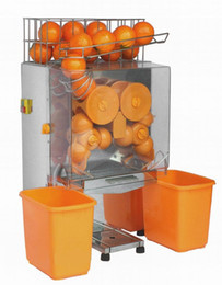 Wholesale Juicing Machines - free shipping CE orange juicer 20 ornage per minute 110V 60Hz commercial electric orange juicing machine and orange press