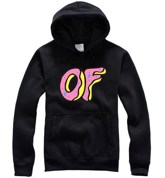 Atacado-2015 New Moda Masculina Odd futuro Hoodies Skate camisola das mulheres odd-futuro Merdas Golf Wang 12 cores Brasão Pullover Casual