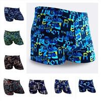 Wholesale Mens Xxl Beach Shorts - summer brazil beach surfing shorts new arrival swimming trunks brand fashion personality swimwear boys mens swimsuit swime free shipping