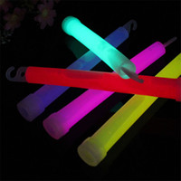 Wholesale Product Neon - LED Light Sticks Chemical Glow Sticks 6 inches Chemical Neon Stick Glow Sticks Flash Festival Products Colors Mixed Outdoor Adventure Party