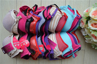 Wholesale Racer Back Sport - Underwear Lace Bra Celebrity Women Padded Bra Racer back Top Athletic Vest Gym Fitness Sports Bras Yoga Dance Bra Tank Tops Wholesale RB02