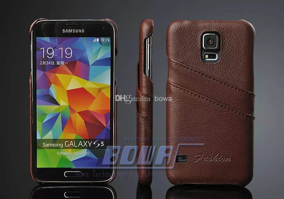 buy online 3ff37 032c4 Free Shipping Case For Samsung Galaxy S5 S6 S7 edge plus Genuine leather  for samsung note 5 4 Back Covers for Samsung Galaxy