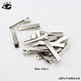 eisen metall preise Rabatt Großhandels-Großhandelspreis 4.6CM 200pcs / lot Qualitäts-Eisen-Haarspangen-Metallhaar-Klipp-Headware-Zusätze freies Verschiffen