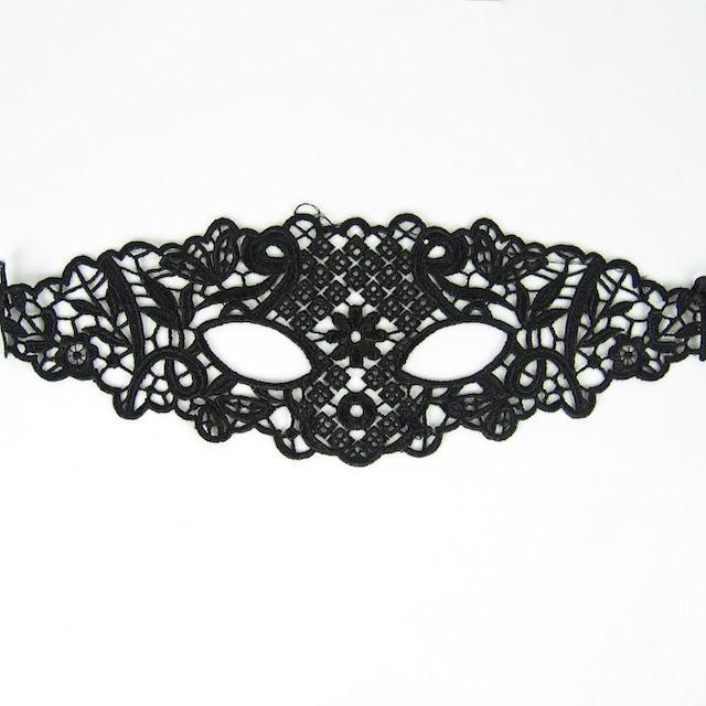 6 maschere di travestimento di design maschere di pizzo nero pizzo partito maschera sexy le signore maschera di Halloween festa da ballo