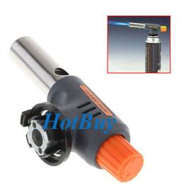 Gás Butano Tocha Queimador Auto Ignition Iron Gun para Solda De Solda Ferramentas PARA CHURRASCO # 2447 de Fornecedores de coador de coquetel