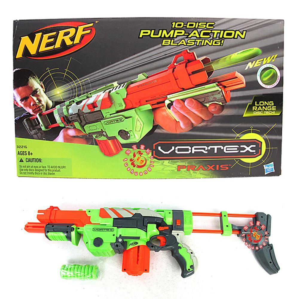 2018 Hasbro Nerf Ufology Vortex Bullet Transmitter 10 Disc Pump Action  Blasting Gun 322164398 From Xihope, $99.75   Dhgate.Com