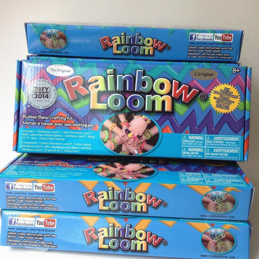 Official Kit with Metal Hook Rainbow Loom 2.0