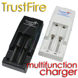 Wholesale Trustfire Batteries - TOP QUALITY Trustfire charger Trust fire TR-001 multi functional charge for mods 18650 10430 14500 16340 17670 18500 li-ion batteries