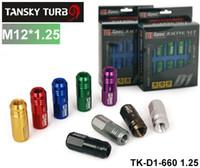 Tansky - D1SPEC RACING LUG NUTS P:1.25, L:52mm (Red Golden Purple Black Silver Blue Gray Green Bronzer) TK-D1-660 1.25