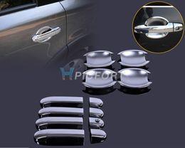Wholesale chrome door handle cover bowls - New Chrome Door Handle Cover + Cup Bowl combo for Nissan Versa Tiida Latio 2007 2008 2009 2010 2011 2012- CA00537-CA00575