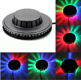 Discount home disco lights - Colorful Sunflower LED RGB Stage Light Dynamic Magic Lighting RGB Effect Par Light Disco DJ Party KTV Stage Wall Decorat