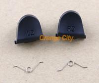 Wholesale Replacement Spring - L2 R2 Trigger Replacement Parts Buttons For PS4 Controller 20pcs lot=5pcs L2+5pcs R2+10pcs spring