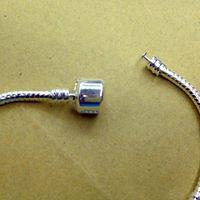 Wholesale Parts For Chainsaws - Chainsaw Parts Cadena De Motosierra Wholesale - 3mm 16-21cm Silver for Pandora Plated Bracelet Chain with Barrel Clasp Fit European Beads