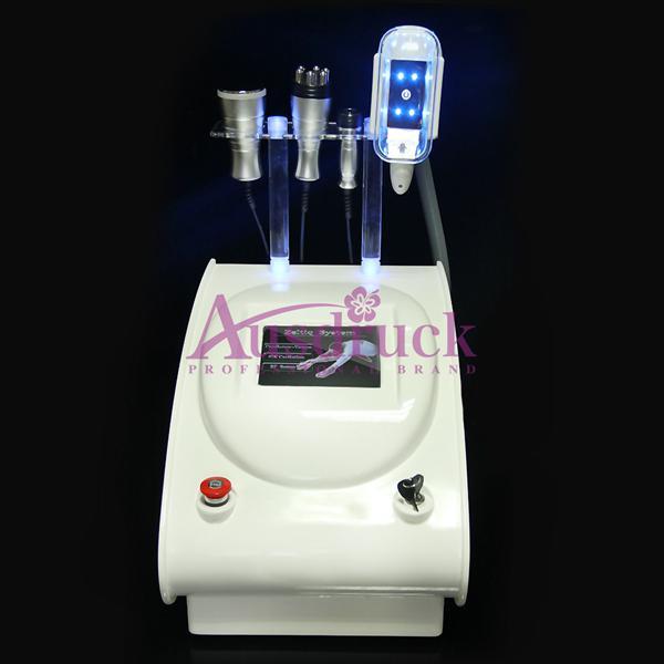 Yüksek Kaliteli Yağ Donma makinesi Vakum Cryo yağ donma Çok Kutuplu RF vücut yüz cilt bakımı 40 K Kavitasyon Zayıflama makinesi