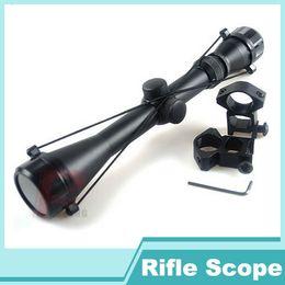 Wholesale Aims Scope - 6-0014 New 3-9x40 Hunting Mil Dot Air Rifle Gun Tactical Scope Telescopic Sight + 20 mm Rail MOUNTS Optical Aim