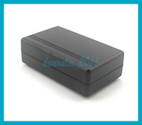Wholesale with tracking number1pc X Electronic Junction Box Enclosure mm Small Black Plastic Box For Electronic Project