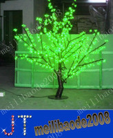 LED Cherry Blossom Tree Light 480pcs LED Bulbs 1.5m Height 110 220VAC Seven Colors for Option Rainproof Outdoor Usage MYY2746A