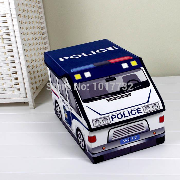 2018 Police Car Storage Box Toy Organizer Box For Toys Children Baby Storage Clothes Storage From Easier $94.08 | Dhgate.Com & 2018 Police Car Storage Box Toy Organizer Box For Toys Children Baby ...