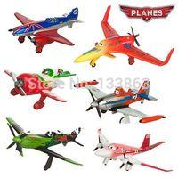 Wholesale Planes Pixar Dusty - 6pcs lot pixar planes, plastic dusty planes, airplane model classic toys for children, gifts doll