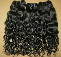 Wholesale Princess Hair Weave - Princess style Brazilian water wave hair wefts 4 bundles mixed lot 100% Unprocessed natural colors Big Sale