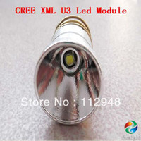 Wholesale Led Mode Module - Wholesale-New Arrival 26.5mm 1-mode CREE XM-L2 U3 1600LM OP LED Module  Drop-in for 501B 502B Flashlight +Free Shipping