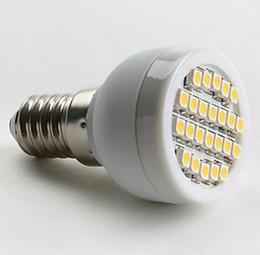 Wholesale 3w E27 Smd3528 - 6Pcs Free Shipping E14 E27 G9 GU10 SMD3528 LED Corn Spot Lights 24led 3W White Warm White Light AC DC 12V Free Shipping