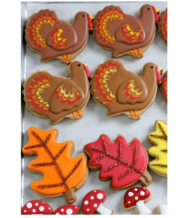 Thanksgiving day Turkey Mold fondant stand Cakes Mould Bakeware Cookie Maker Stainless steel Decorator kitchen tools