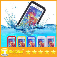 Wholesale Galaxy S4 Water Proof Cover - A++ Quality Waterproof Case Dust Water Proof Cases Cover Shockproof for iphone 6 5C 5 5S 4 4S Samsung Galaxy S4 S5 Note 2 3 30Pcs DHL