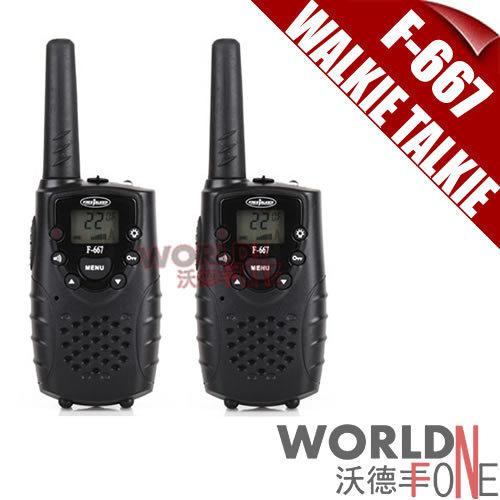 2Pcs (пара) Walkie Talkie F-667 Interphone 0.5W UHF 2-Way Radios Handheld 22CH Transceiver для детей Home Use