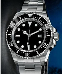 Wholesale Divers Men - AAA Quality Ceramic Bezel Mechanical New styl date Fashion Automatic Wristwatches men watch Luxury sport Stainless steel Men's Watches