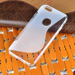 Wholesale Line Gel - For iPhone7 6 Plus S line TPU Gel Soft Case Cover Hybrid Clear Skin For iphone 7 6S 7Plus