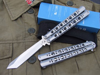 Wholesale New BM BM47 Butterfly Balisong hunting knives BM42 BM43 BM62 tool folding knife Camping knife knives