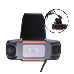 Wholesale 12 Cmos - USB 2.0 Webcam Clip-on Webcam Camera HD 12 Megapixels Camera with MIC for Computer Laptop Top Quality C1922