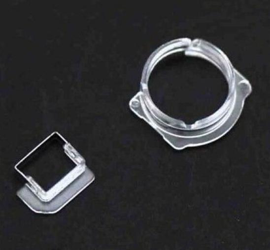 아이폰 5 5c 5s에 대 한 새로운 빛 센서 전면 카메라 플라스틱 홀더 클립 반지 브래킷