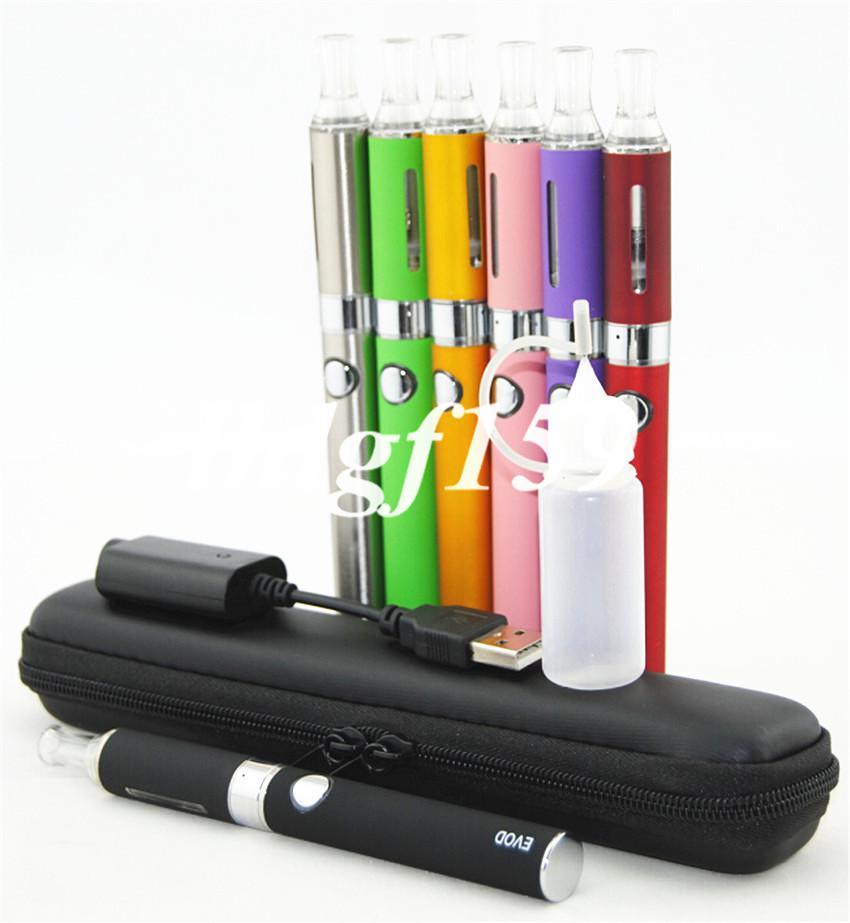 eVod MT3 Kit con sigaretta elettronica Atomizzatore MT3 650mah 900mah 1100mAh Batteria e sigaretta clearomizer in custodia con cerniera E Caricatore USB Cig