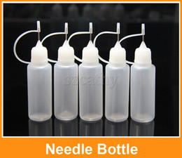 Wholesale Empty Electronic Cig - Needle Bottle Empty Bottle for eGo Series Electronic Cigarette E-cig Empty Plastic Needle Bottles Dropper Bottles